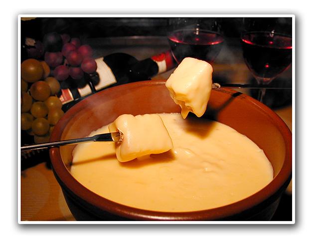 須磨のチーズフォンデュ