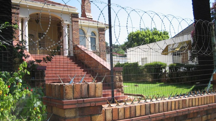 home security fence