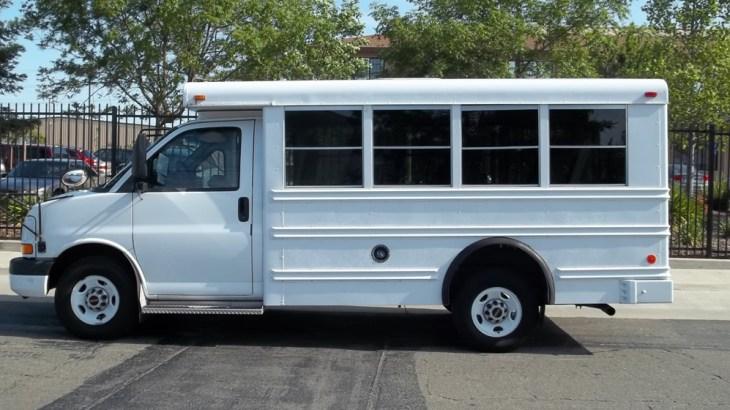 salvage mini bus