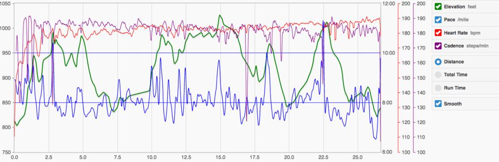 Runmeter data
