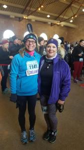 Me and Timi...pre race!