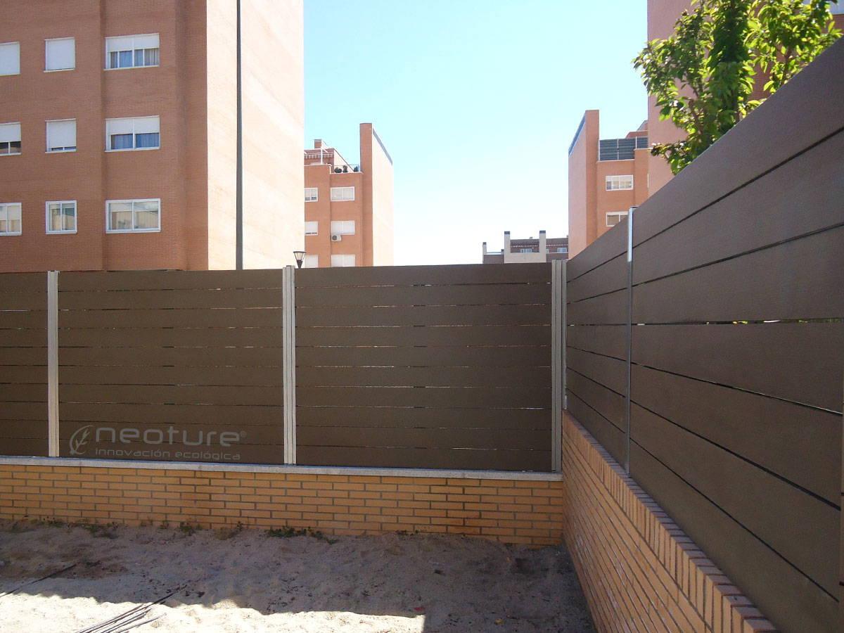 Vallas Pvc Jardin. Gallery Of Simple Valla De Madera Blanco With ...
