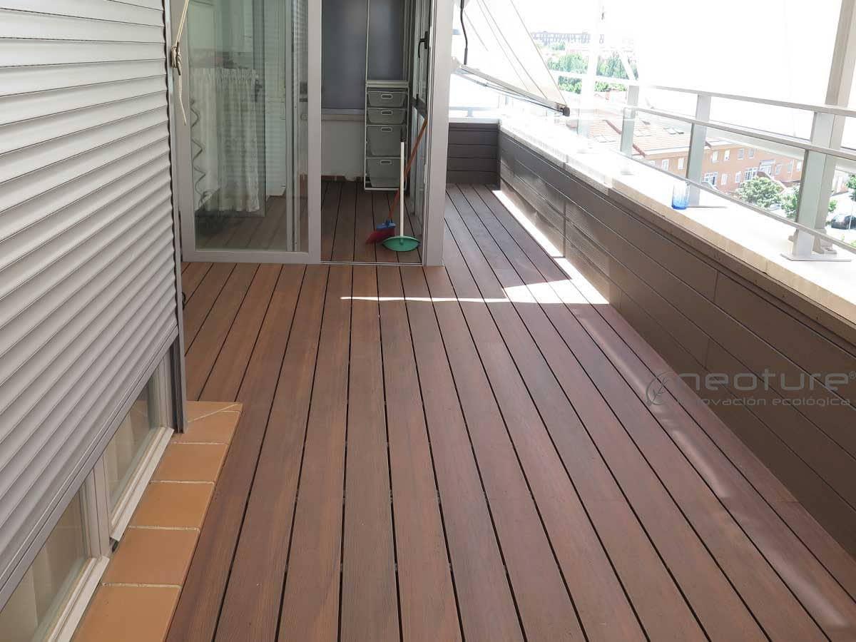 Tarima tecnologica para exterior neocros for Tarima de madera exterior