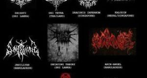"Asian Black Metal Compilation ""Evilil Demiom"""