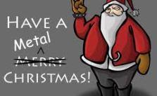 happy metal christmas