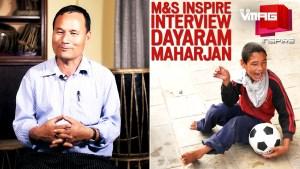 M&S INSPIRE: Dayaram Maharjan For Disabled Service Association