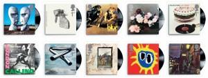 Classic Album Cover Stamps