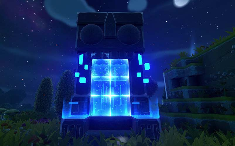 3d Animated Horror Wallpaper Portal Knights Our First Impressions Nerd Much