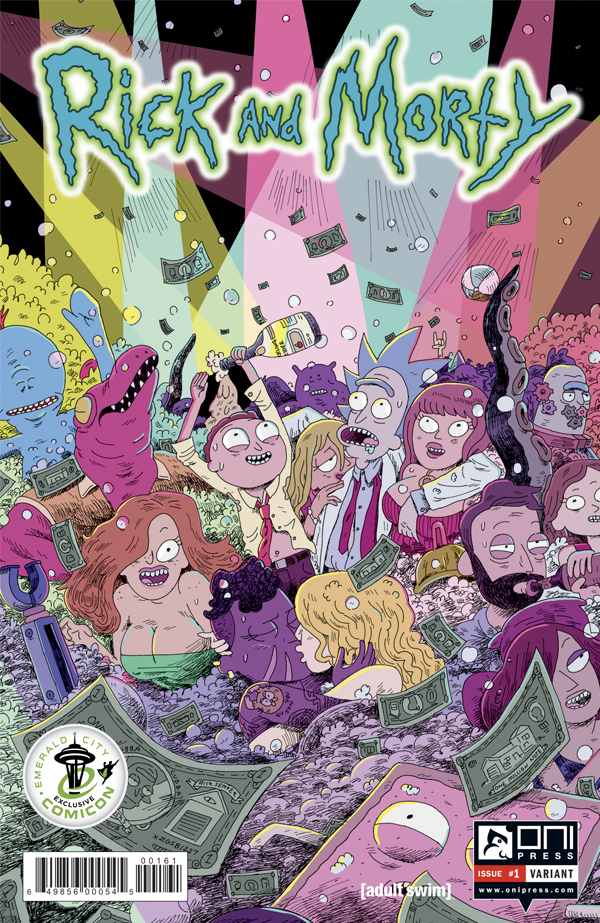 Acid Iphone Wallpaper Nine Page Preview Of Oni Press Rick And Morty 1 Nerdspan