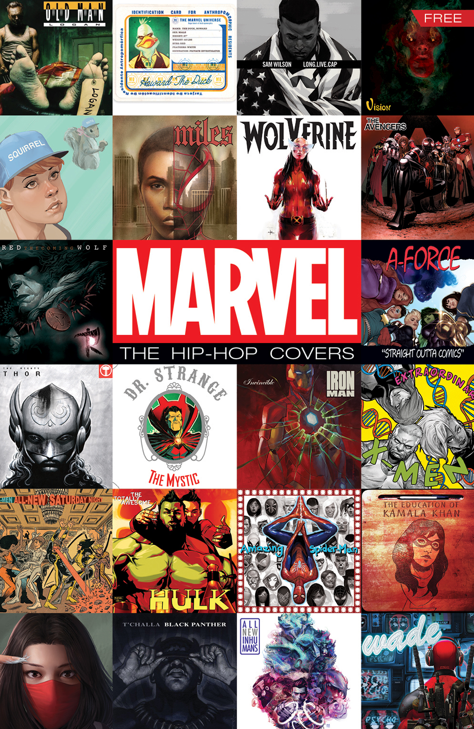 Pop Art Comic Girl Wallpaper Marvel Releases Free Hip Hop Cover Variant Sampler