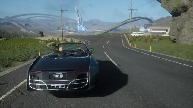 final fantasy xv driving