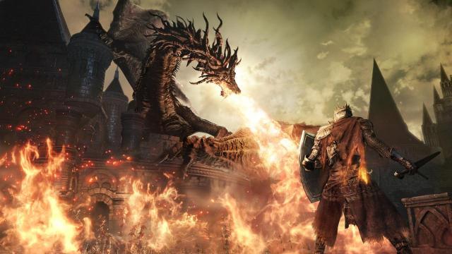 dark souls 3 dragon