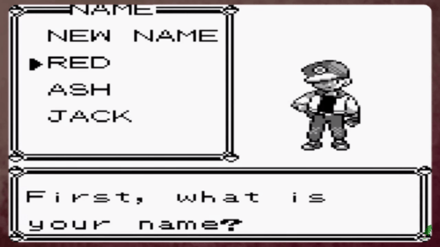 pokemon red intro