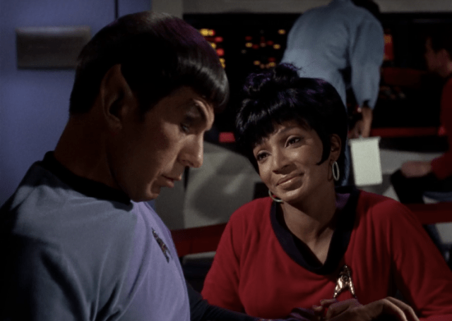 For those NuTrek haters who say Spock and Uhura would never happen...