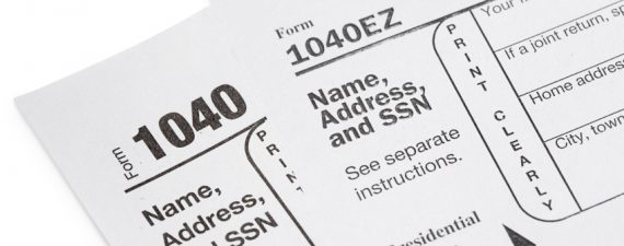 IRS Form 1040, 1040A or 1040EZ Which Tax Form to Use in 2018 - tax form