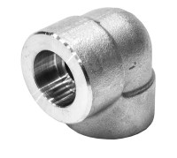 90 Degree Elbow Socket Weld 6000LB Stainless Steel