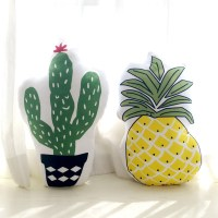 Pineapple Pillow and Cactus Cushion