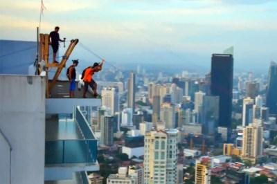 The World's Largest Urban Zipline | Nerve Rush