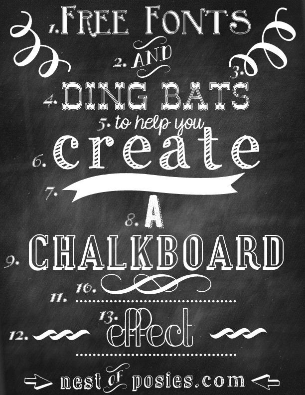 chalk font generator