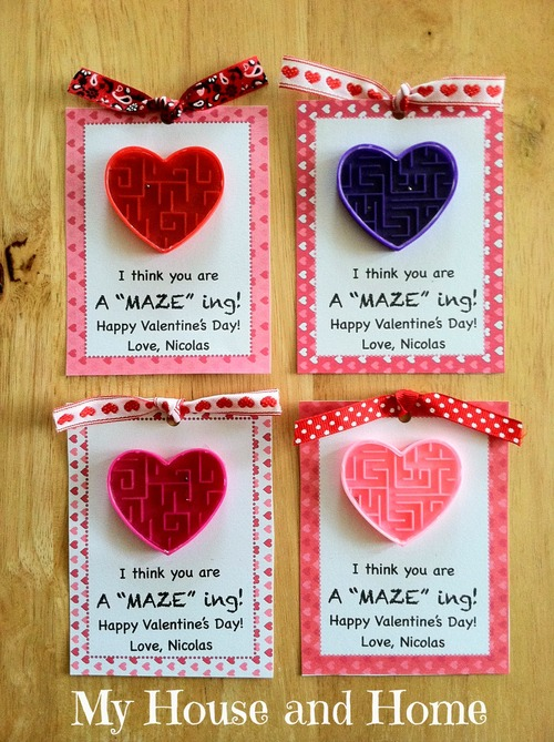 I think you are a MAZE ing Valentine