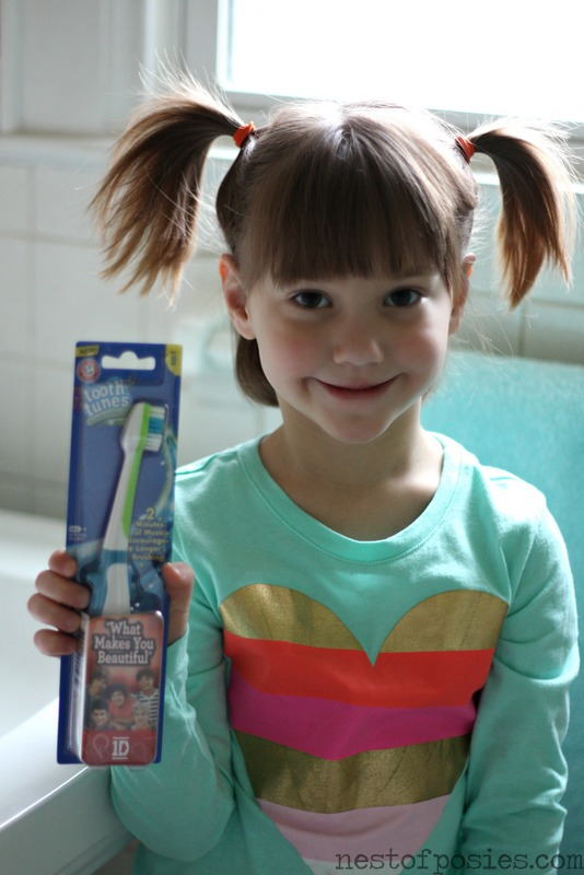 Arm & Hammer's Tooth Tunes Toothbrush with One Direction