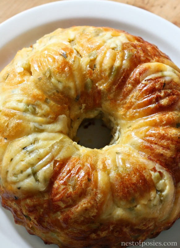 Mexican Bubble Bread made in a bundt pan
