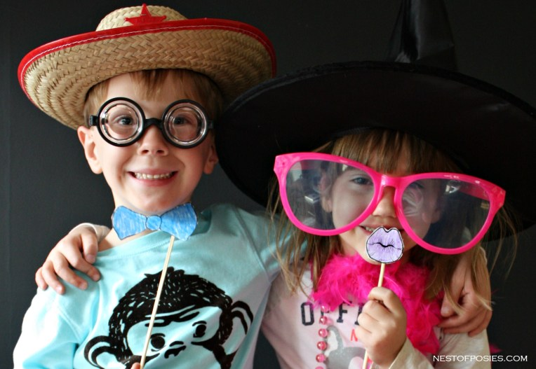 Photo Booth Ideas with kids