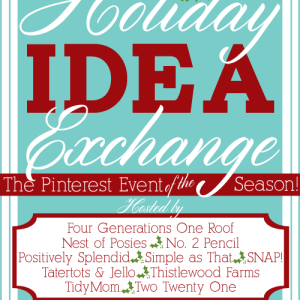 Holiday Idea Exchange Pinterest Party