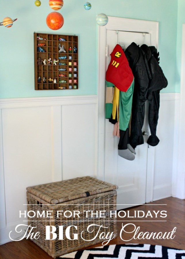 Tips on Clearing out the toys before the holidays
