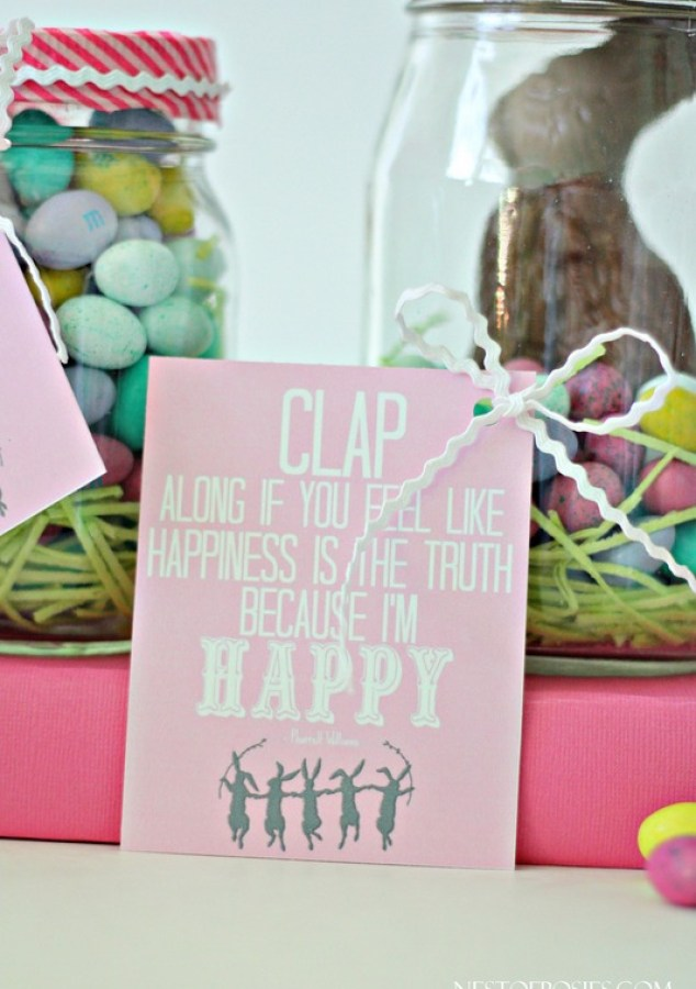 I'm Happy Easter Treat Printables