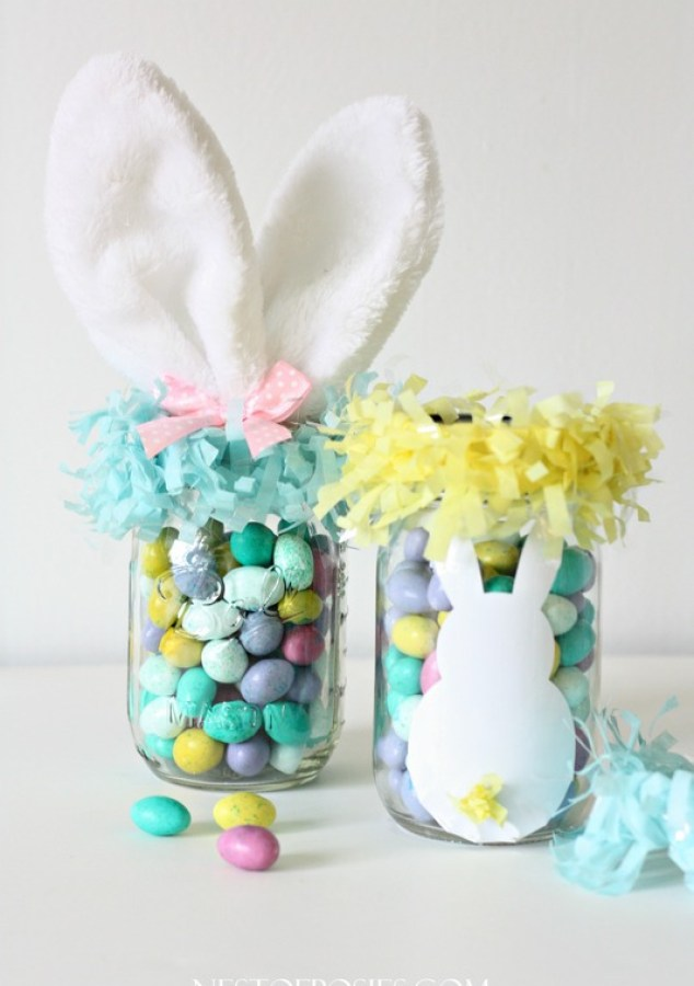 Mason Jar Easter Treats