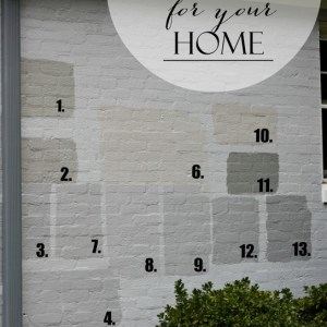 Finding the Perfect Gray Paint for your Home.  Real life tale of trials & errors to find the perfect color.
