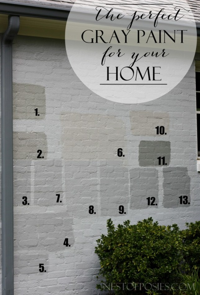 Exterior gray paint colors for Light gray exterior paint