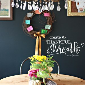 Create a Thankful Wreath