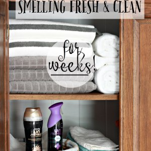 How to keep your laundry smelling clean for weeks!