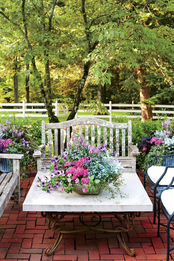 Container Gardening Ideas   Patio Flowers Ideas
