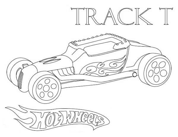 hot wheels track coloring pages