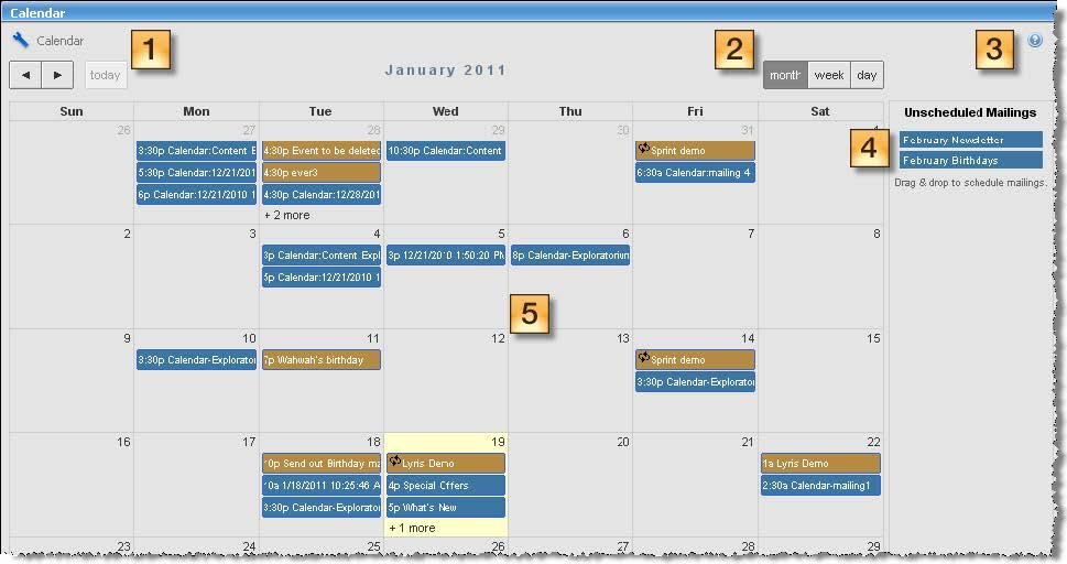 Email Marketing Solutions  Services Email Marketing Calendar