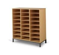 Meuble casier 24 cases, mobilier maternelle, mobilier scolaire