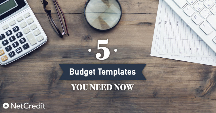 5 Free, Simple, Personal Monthly Budget Templates - NetCredit