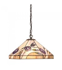 Damselfly Medium Tiffany Style One Light Ceiling Pendant ...