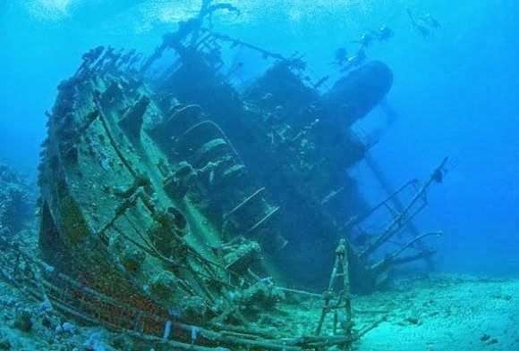 What was found on the ocean floor was as haunting as the for 10 facts about the ocean floor