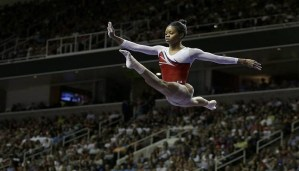 Despite rough performance, Gabby Douglas makes to Olympic team of U.S.