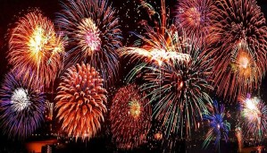 Fireworks show on 4th July in D.C. could be restrained by rain!!!