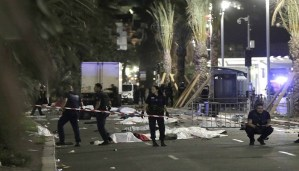 Nice terror attack: 80 killed while celebrating in Bastille Day when truck ploughed into crowd for up to 2 km!!!