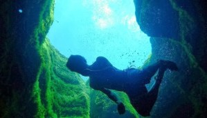 The amazing secrets behind the swimming hole in Texas!