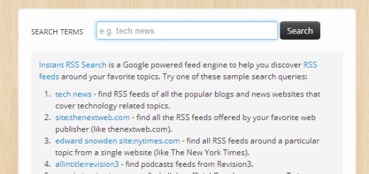 RSS Search Engine - Find Feeds with Instant Search