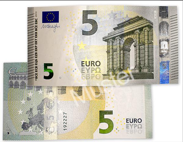 der neue 5 euro schein