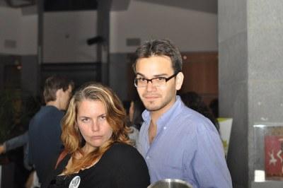 Chrissie and Natan