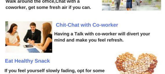 Tips to Stay Awake During #Work \u2013 Neurology and sleep Centre Blog